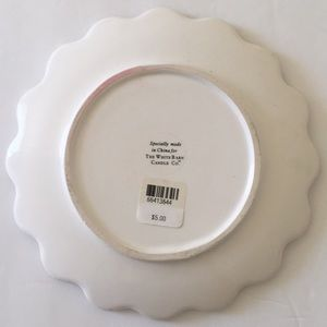 The White Barn Candle Co Candle Plates Shabby Chic